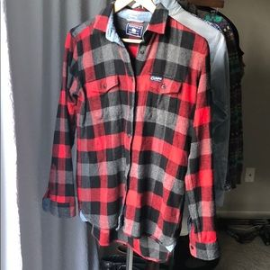Penfield size S flannel button down from Madewell